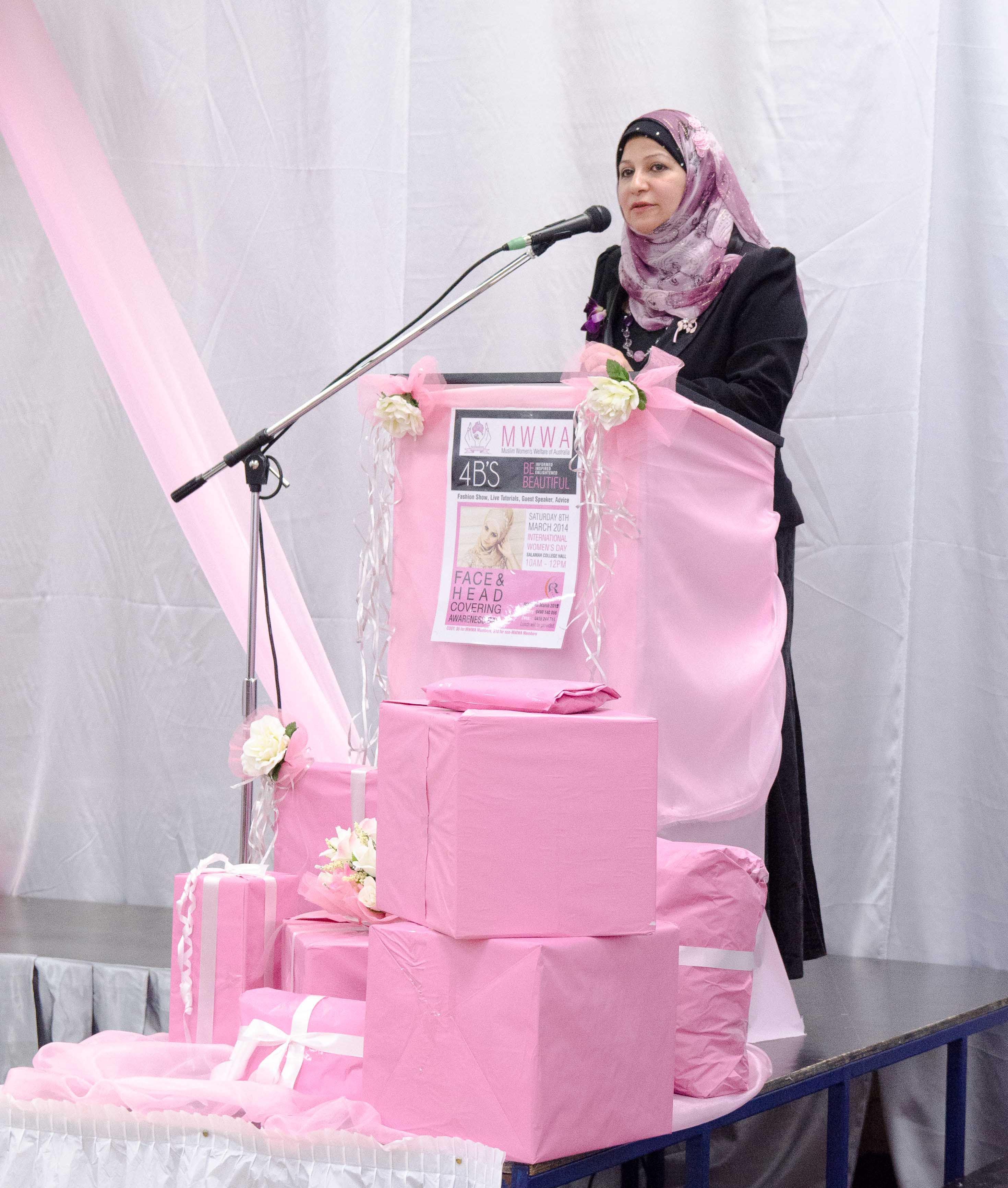 Mrs Faten El Dana OAM ,MWWA President