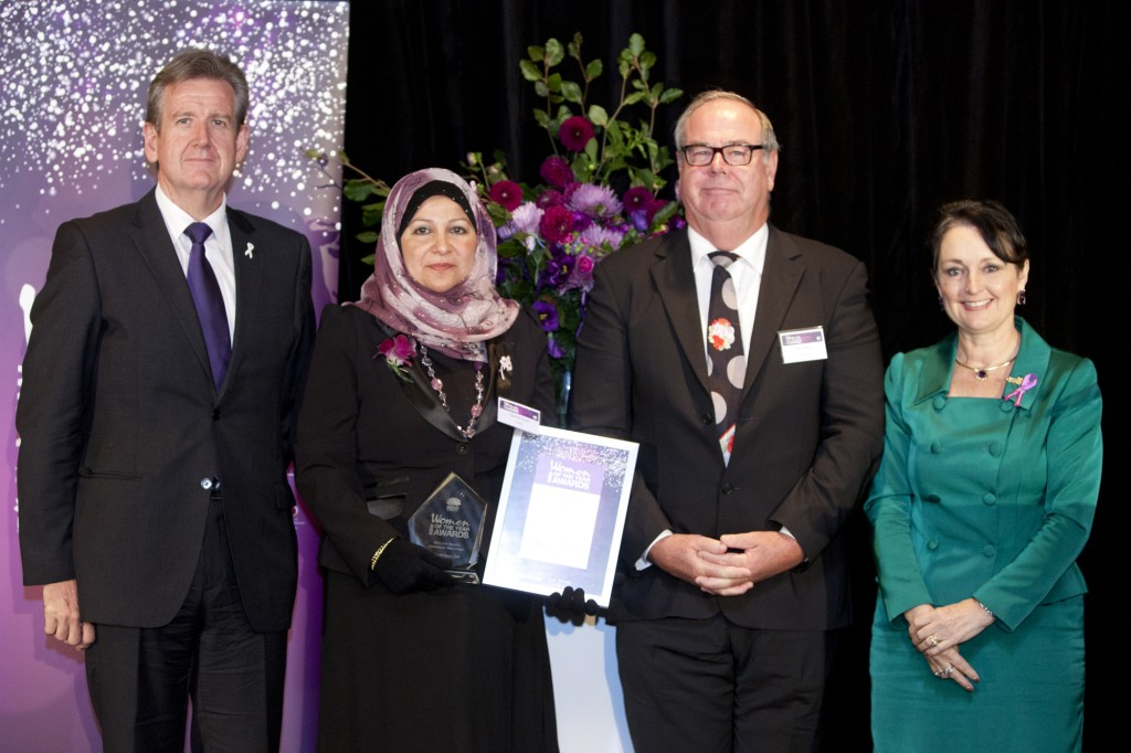 Minister Goward-BOF and Faten