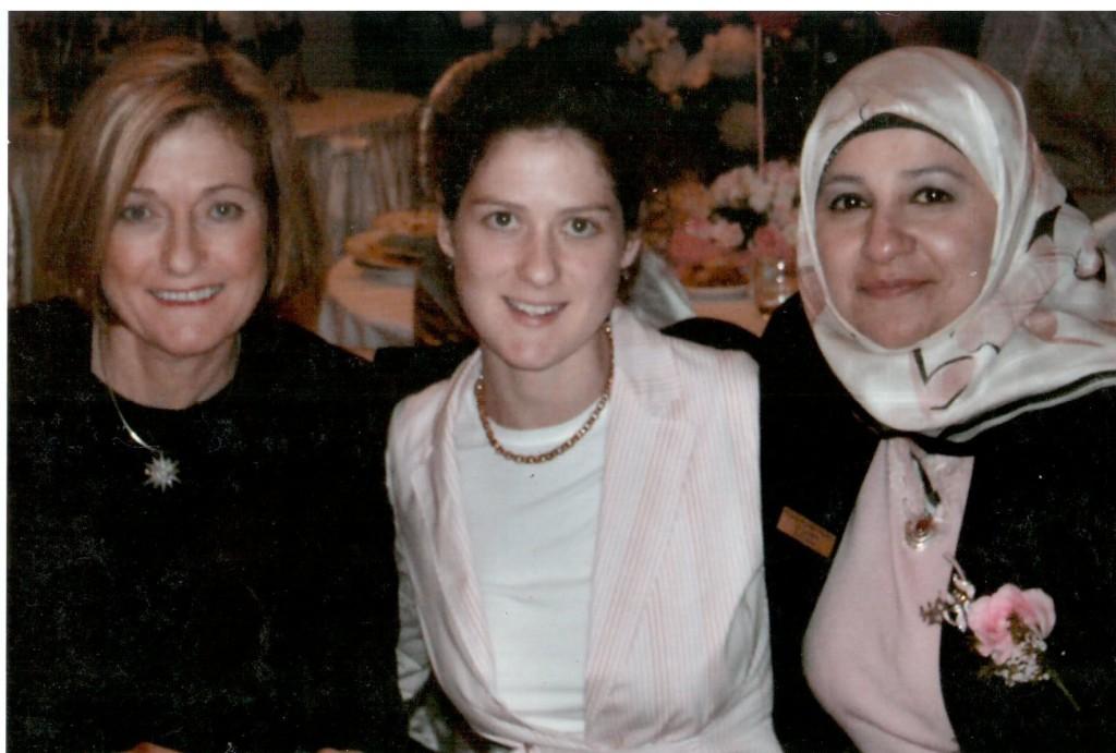Mrs & Miss Ruddock & Mrs Dana Iftar Ramdan