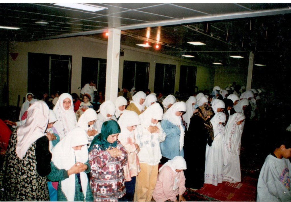 Women's Eid prayer