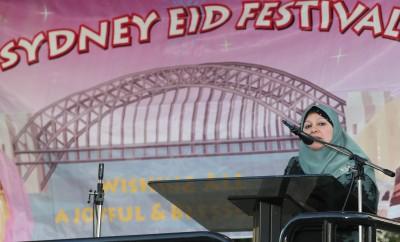 2014 Sydney Eid Festival Mrs El Dana OAM