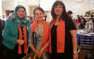 Faten , Minister Goward & Eman