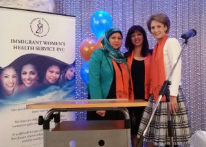 Faten, Eman & Senator Cash