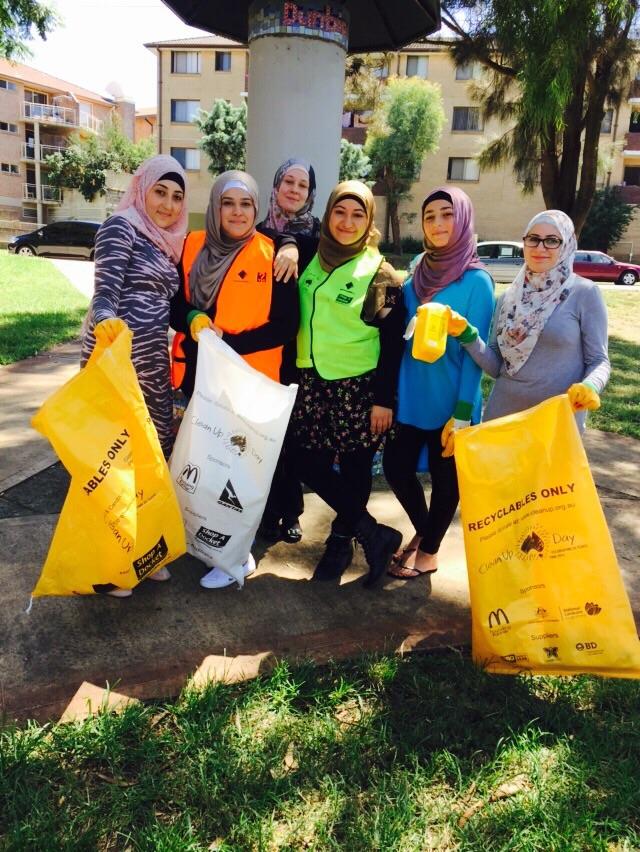 MWWA members 2015 Clean Up Australia Day
