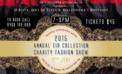 Neva Style and in collaboration with a few boutiques will be holding their annual Eid collection fashion