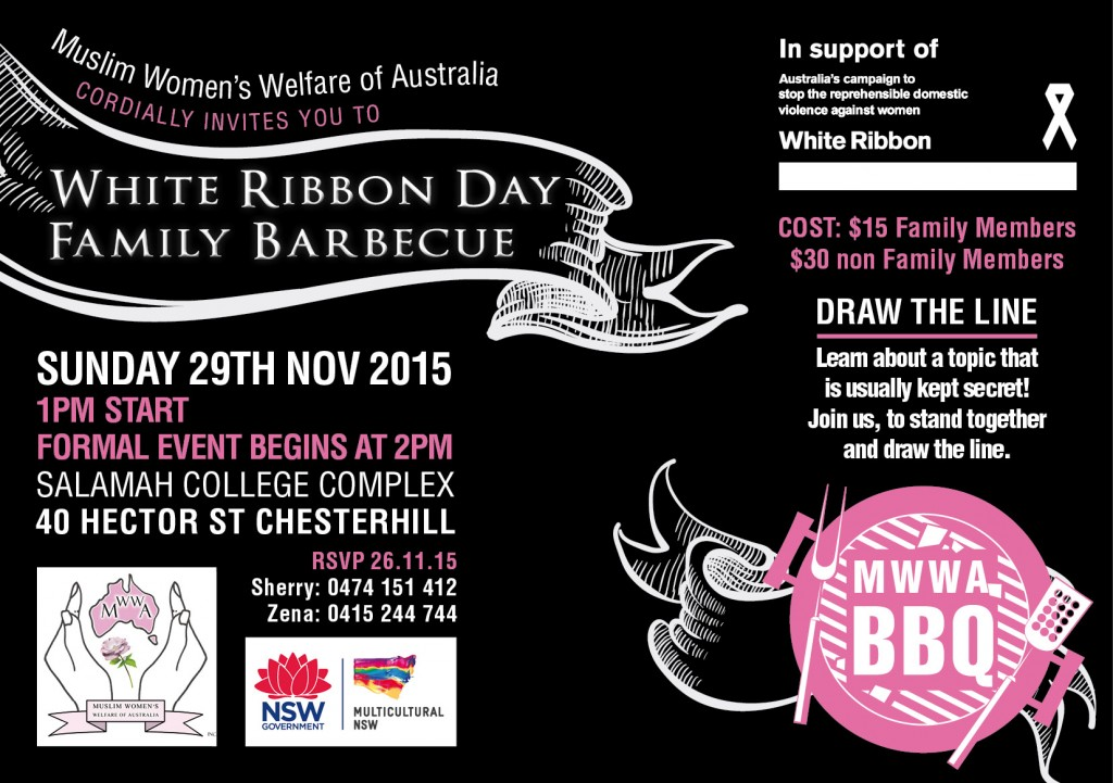 White Ribbon Day Family Barbecue