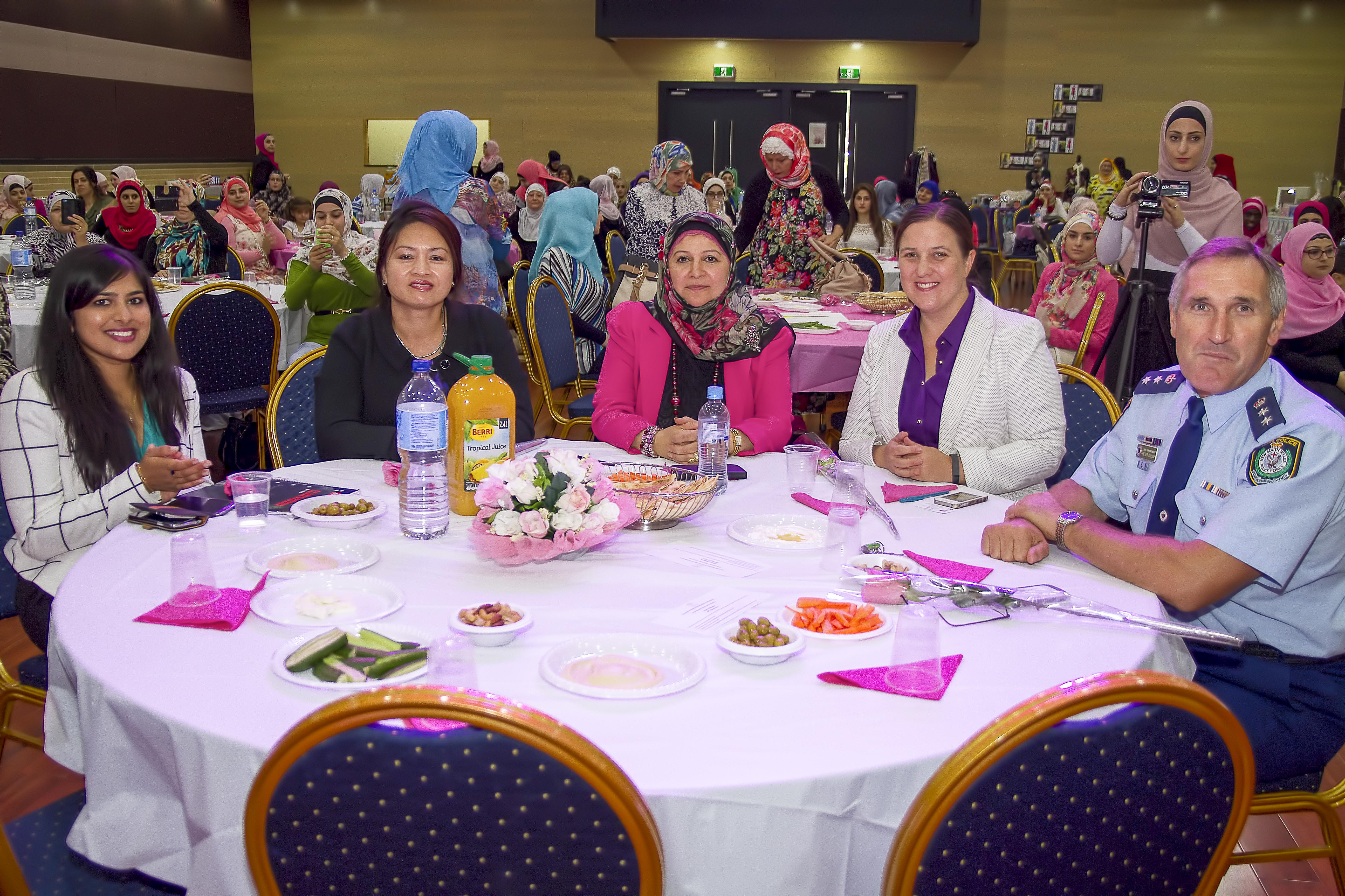 Ms Kaliyand, Ms Yang, Mrs Dana OAM, Ms Gibbons & Superintendent Gillam